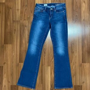 Gap flare jeans - size 28